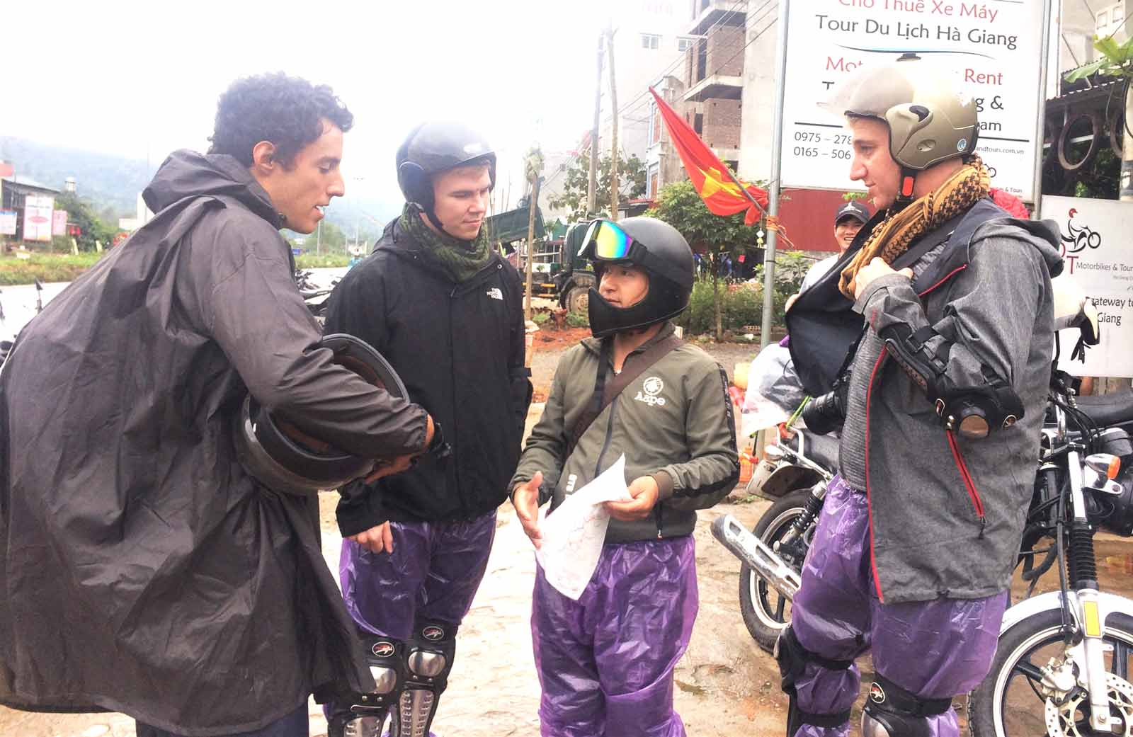 what to pack for the ha giang loop rain