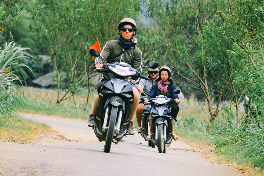qt motorbike rental tours ha giang cao bang road 3