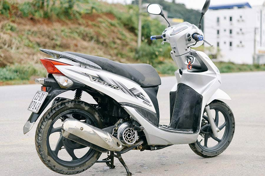 Can I Do The Ha Giang Loop With An Automatic Bike? honda vision