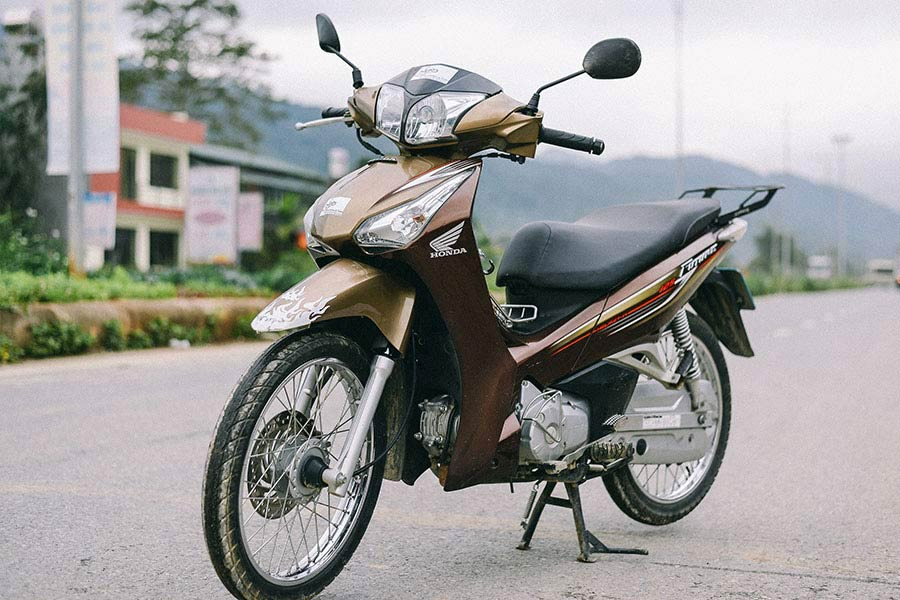 Can I Do The Ha Giang Loop With An Automatic Bike? Honda future
