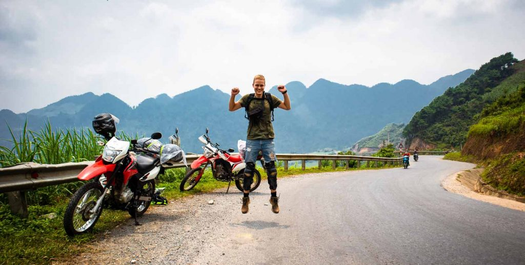 ways to explore ha giang loop motorbike