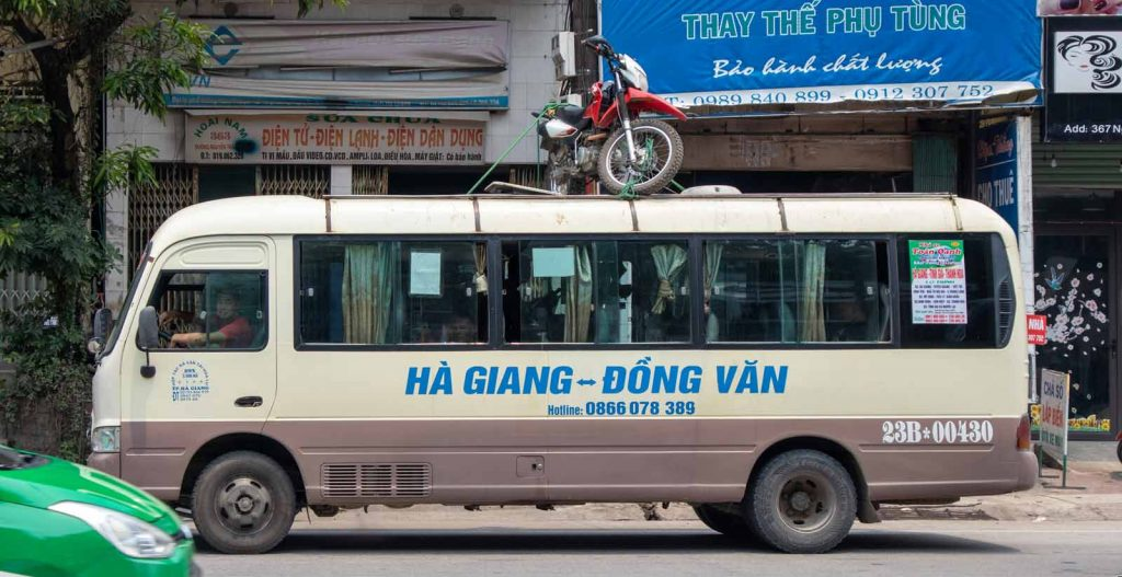 10 common planning mistakes for the Ha Giang Loop: bus